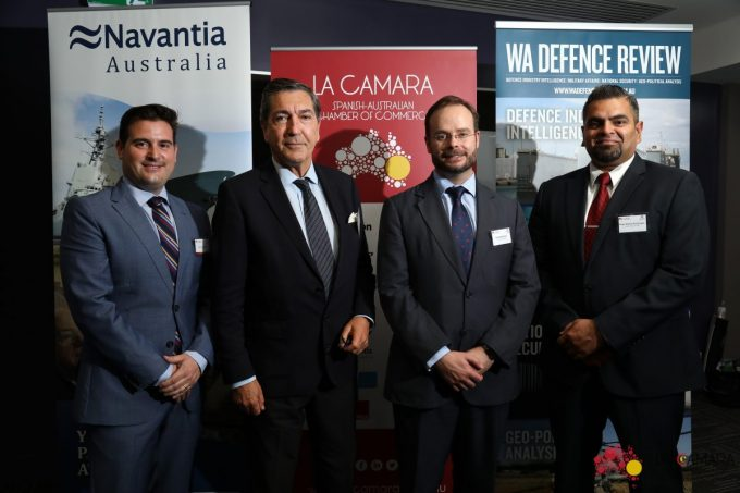 La Camara Partners with Defence West and WA DEFENCE REVIEW to host Spanish Ambassador and Navantia Australia CEO