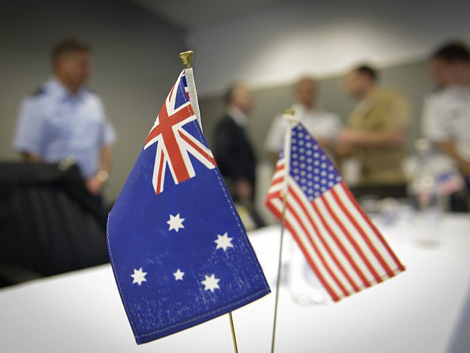 Aus-US Flags