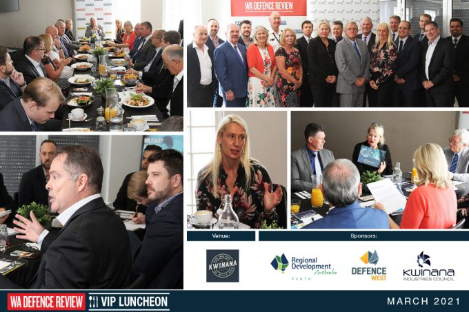 Western Trade Coast Dialogue Takes Centre-Stage At WA DEFENCE REVIEW VIP Luncheon Held In Kwinana