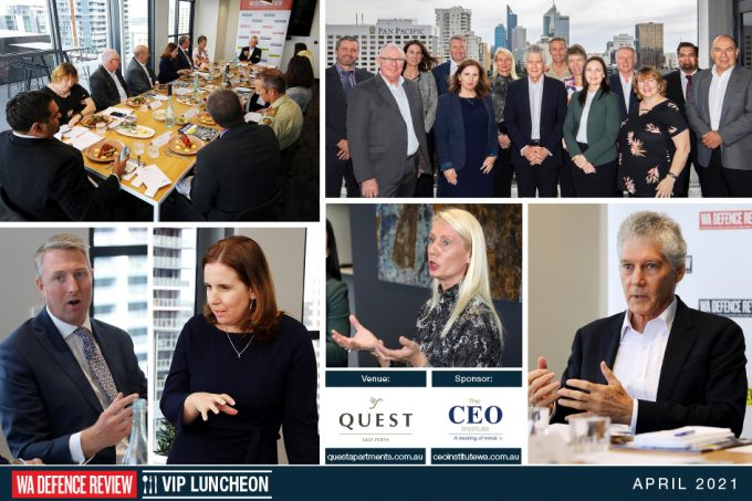 WA DEFENCE REVIEW Hosts Unique VIP Luncheon On Leadership And Management In Partnership With The CEO Institute WA And Quest East Perth